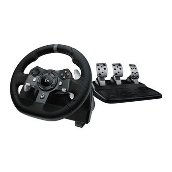 Save £24 at Scan on Logitech G920 Racing Wheel and Pedals for PC & Xbox One