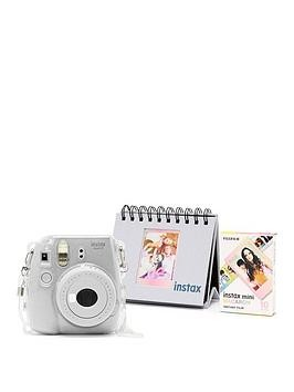 Save £15 at Very on Fujifilm Instax Mini 9 Camera Kit With 10X Macaron Film, Glitter Case  Flip Album