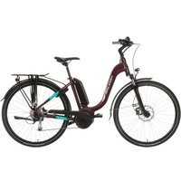 Save £323 at Halfords on Raleigh Felix+ Step-through Electric Hybrid Bike - 46cm Frame