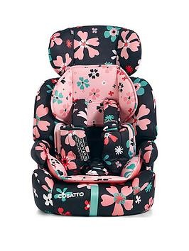 Save £10 at Very on Cosatto Zoomi Group 123 Car Seat - Paper Petals