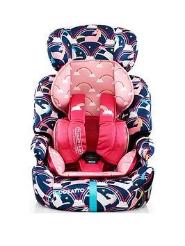 Save £10 at Very on Cosatto Zoomi Group 123 Car Seat - Magic Unicorns