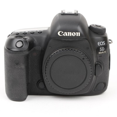 Save £131 at Wex on Used Canon EOS 5D Mark IV Digital SLR Camera Body