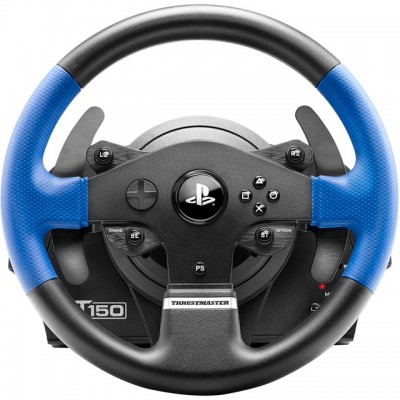 Save £24 at AO on Thrustmaster T150 Force Feedback Steering Wheel & Pedals - Black / Blue