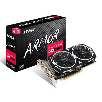 Save £38 at Scan on MSI AMD Radeon RX 570 8GB ARMOR OC Graphics Card