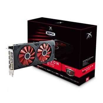 Save £21 at Scan on XFX AMD Radeon RX 570 8GB RS XXX Edition Graphics Card