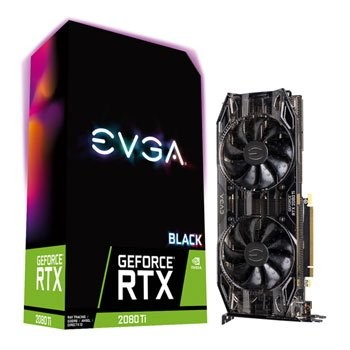 Save £180 at Scan on EVGA NVIDIA GeForce RTX 2080 Ti 11GB BLACK EDITION Turing Graphics Car