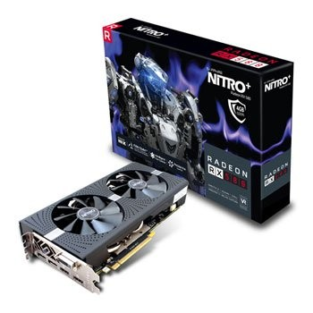 Save £32 at Scan on Sapphire AMD Radeon RX 580 4GB NITRO+ Graphics Card
