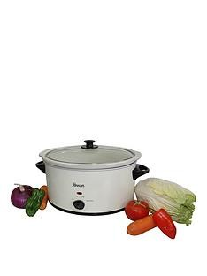 Save £5 at Very on Swan 5.5-Litre Slow Cooker - Cream