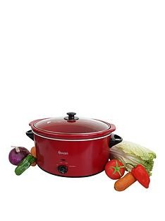 Save £4 at Very on Swan SF11041B 5.5-Litre Slow Cooker - Red