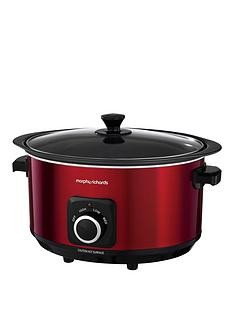 Save £10 at Very on Morphy Richards Evoke 6.5-Litre Manual Slow Cooker - Red