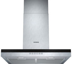 Save £124 at Currys on SIEMENS iQ300 LC67BE532B Chimney Cooker Hood - Stainless Steel