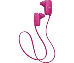 Save £7 at Currys on JVC HA-F250BT-PE Wireless Bluetooth Headphones - Pink