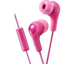 Save £7 at Currys on JVC HA-FX7M-P-E Headphones - Pink