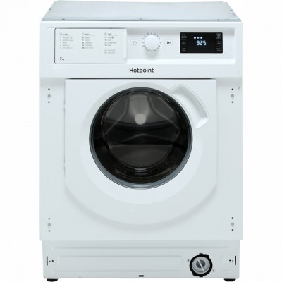 Save £40 at AO on Hotpoint BIWMHG71484 Integrated 7Kg Washing Machine with 1400 rpm - A+++ Rated