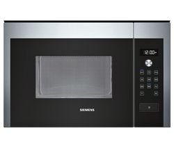 Save £119 at Currys on SIEMENS HF24M564B Built-in Solo Microwave - Stainless Steel