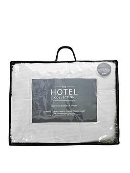 Save £10 at Very on Hotel Collection Ultimate Luxury White Goose Down 10.5 Tog Duvet