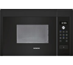 Save £80 at Currys on SIEMENS HF15M664B Built-in Solo Microwave - Black