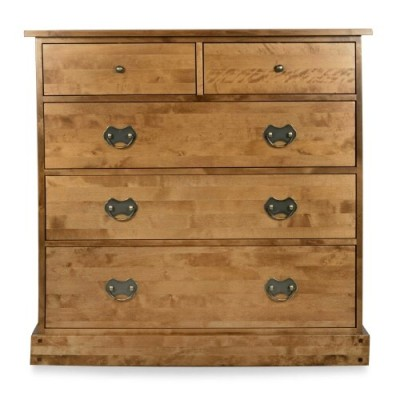 Save £225 at Laura Ashley on Garrat Honey 5 Drawer Wide Chest Of Drawers