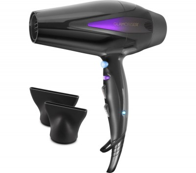 Save £10 at Currys on GLAMORISER GLA026 Ultra Hair Dryer - Black, Black