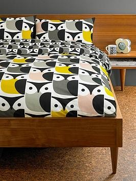 Save £10 at Very on Orla Kiely House Big Owl Cotton Duvet Cover