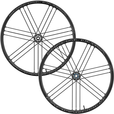 Save £119 at Chain Reaction Cycles on Campagnolo Shamal Ultra DB 2-Way Fit Road Wheelset - Dark Label - Shimano, Dark Label