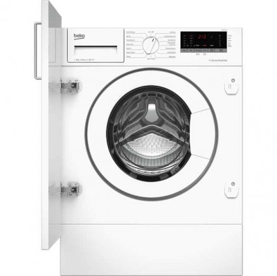 Save £50 at AO on Beko WIR86540F1 Integrated 8Kg Washing Machine with 1600 rpm - A+++ Rated