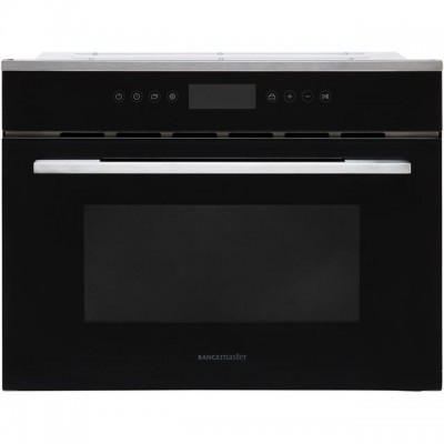 Save £81 at AO on Rangemaster RMB45MCBL/SS Built In Combination Microwave Oven - Black