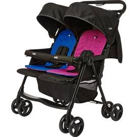 Save £21 at Argos on Joie Aire Blue and Pink Twin Pushchair