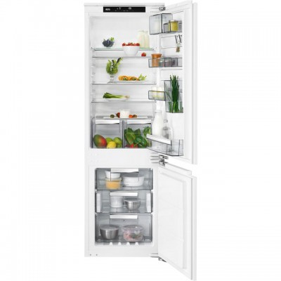 Save £100 at AO on AEG SCE8182VNC Integrated 70/30 Frost Free Fridge Freezer with Fixed Door Fixing Kit - White - A++ Rated