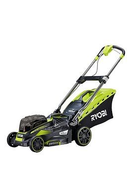 Save £40 at Very on Ryobi Rlm18X41H240 18V One+ Cordless Fusion 40Cm Lawnmower Starter Kit (2 X 4.0Ah)