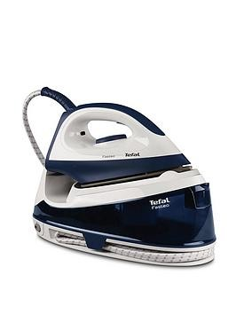 Save £10 at Very on Tefal Sv6035G0 Fasteo Steam Generator Iron - Dark Blue