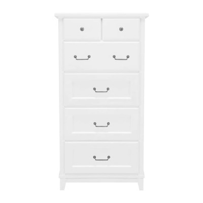 Save £200 at Laura Ashley on Devon White Tall Chest of Drawers