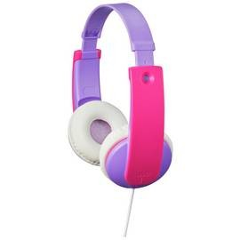 Save £2 at Argos on JVC Volume Limited Kids Headphones - Violet / Pink