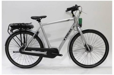 Save £335 at Evans Cycles on Trek UM1 + 400 2019 Electric Hybrid Bike 60cm (Ex-Demo / Ex-Display) | Grey