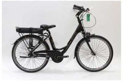 Save £117 at Evans Cycles on EBCO UCL-60 Step Thru 2016 Electric Hybrid Bike 44cm (Ex-Demo / Ex-Display) | Black