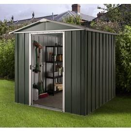 Save £40 at Argos on Yardmaster Deluxe Metal Shed with Support Frame - 6 x 4ft