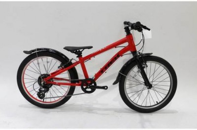 Save £33 at Evans Cycles on Trek Wahoo 20 Inch 2020 Kids Bike 20 Inch wheel (Ex-Demo / Ex-Display) | Red
