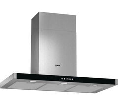 Save £267 at Currys on NEFF D79MH52N1B Chimney Cooker Hood - Stainless Steel