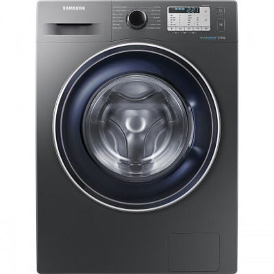 Save £80 at AO on Samsung ecobubble™ WW80J5555FC 8Kg Washing Machine with 1400 rpm - Graphite - A+++ Rated