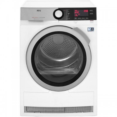 Save £100 at AO on AEG AbsoluteCare Technology T8DEC946R 9Kg Heat Pump Tumble Dryer - White - A++ Rated