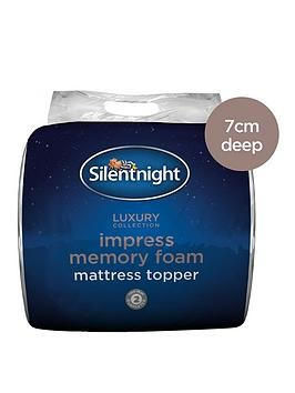 Save £25 at Very on Silentnight Luxury Impress 7Cm Memory Foam Mattress Topper