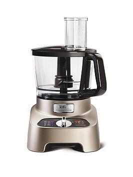 Save £31 at Very on Tefal Do824H40 Doubleforce Pro 1000W Multifunction Food Processor - Premium Silver And Chrome