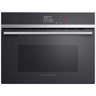 Save £300 at Appliance City on Fisher Paykel OM60NDB1 Built In Combination Microwave - STAINLESS STEEL