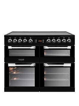 Save £110 at Very on Leisure Cs100C510K Cuisinemaster 100Cm Electric Range Cooker With Ceramic Hob And Optional Connection  Black - Cooker Only