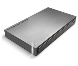 Save £23 at Currys on LACIE Porsche Design Portable Hard Drive - 2 TB, Grey