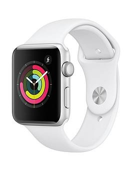 Save £80 at Very on Apple Watch Series 3 (2018 Gps), 42Mm Silver Aluminium Case With White Sport Band