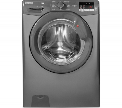 Save £40 at Currys on HOOVER Link DHL 1482D3R Smart 8 kg 1400 rpm Washing Machine - Graphite, Graphite