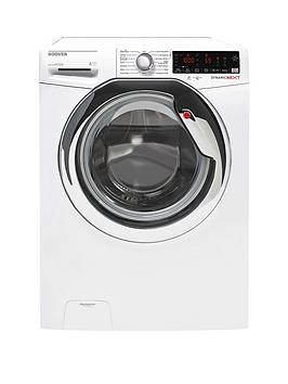 Save £80 at Very on Hoover Dxoa410C3W 10Kg Load, 1400 Spin Speed Wi-Fi Washing Machine - White With Chrome Door