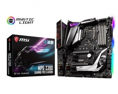 Save £34 at Ebuyer on MSI MPG Z390 GAMING PRO CARBON LGA 1151 DDR4 Motherboard