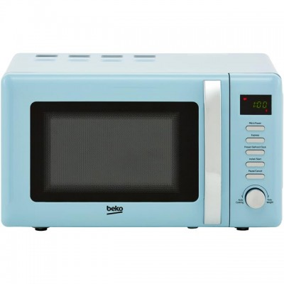 Save £10 at AO on Beko Retro MOC20200M 20 Litre Microwave - Mint Blue